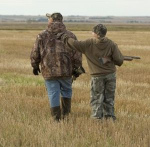 Teaching Kids How to Hunt